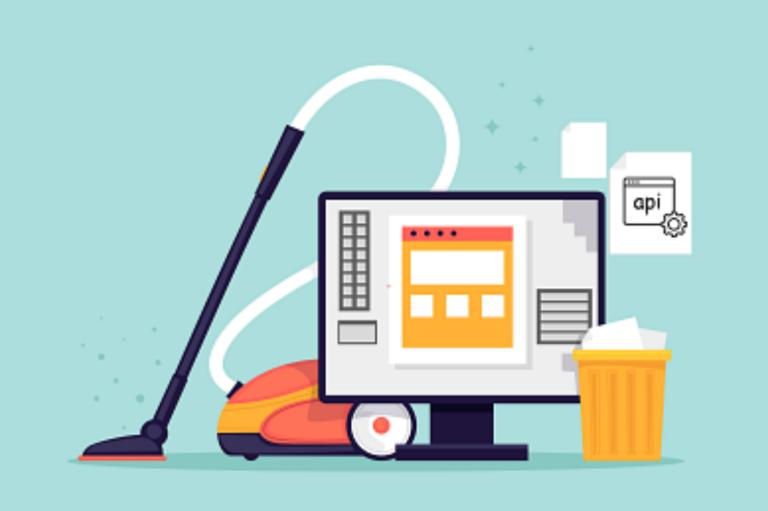 Illustration pour de la maintenance d'un site